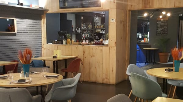 Vista sala - Cocinar Brasas Bar, Madrid
