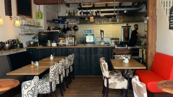 Het restaurant - Freddo kitchen bar, Zandvoort