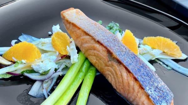 Get Your Salmon on  - White Linez by Fifi, Narellan