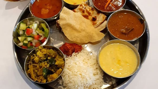 Thali ...Tasting platter - The Roy Cafe & Indian Dining, Collaroy (NSW)