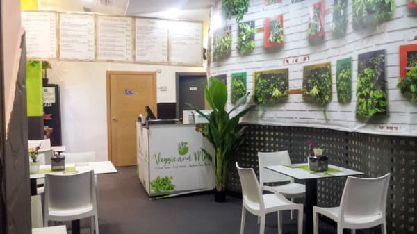 Vista del interior - Veggie and more, Huelva