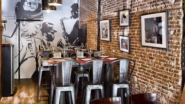 Vista sala - Trikki Nueva Orleans Traditional Cuisine, Madrid