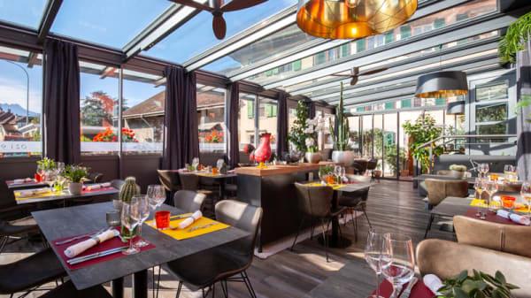 Terrasse - Restaurant de l'Etoile, Noville