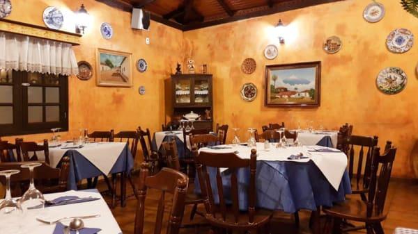 Vista sala - Restaurante Carmen, Icod de los Vinos