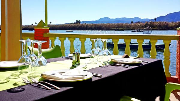 Vista mesa - Casa Picanterra, Cullera
