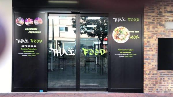 devanture - Thai Food, Clichy-sous-Bois