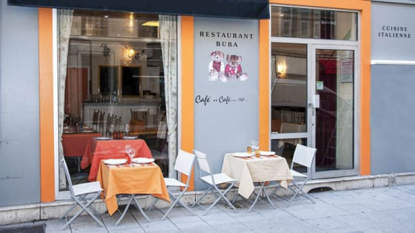 terrasse - Restaurant Buba, Nice
