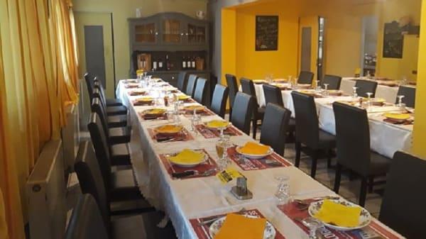 Salle du restaurant - Le Batelier, Prigonrieux