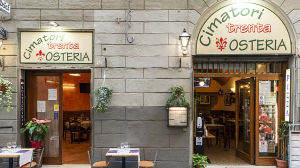 Osteria dei Cimatori 30, Florence