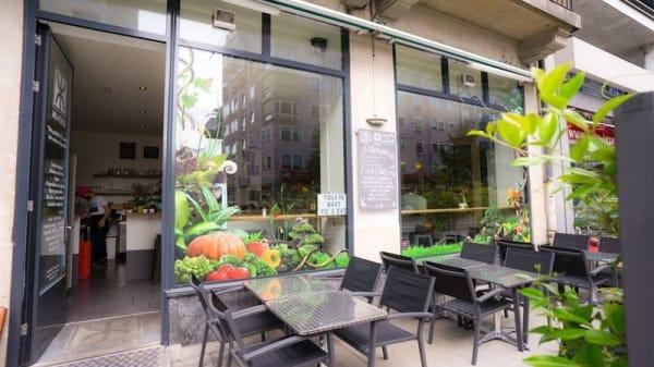 Terrasse - Mu-Food, Genève