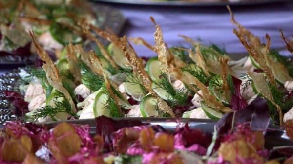 mat - Bryghuset møn restaurant, Stege