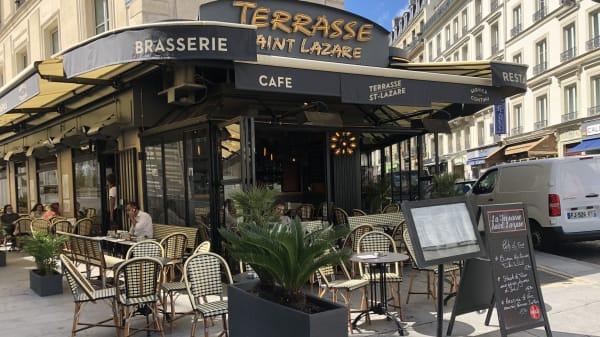 Terrasse Saint Lazare, Paris