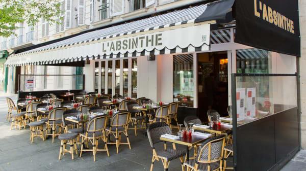 La terrasse - L'Absinthe, Paris