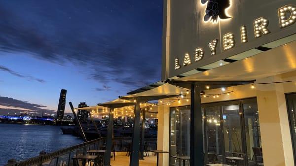 Ladybird Restaurant & Bar, Main Beach (QLD)