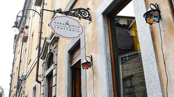 Ingresso - Casa Martin, Turin