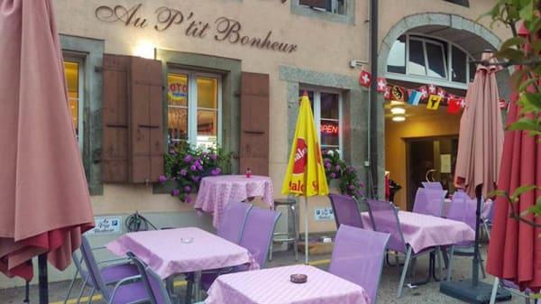 Terrasse - Au p'tit bonheur, Cheseaux-sur-Lausanne