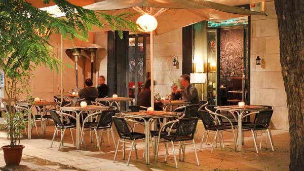terraza - Pizza Ravalo, Barcelona
