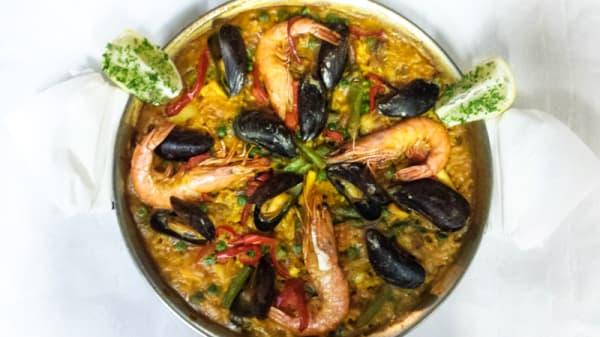 Suggestie van de chef - La Paella, Amsterdam