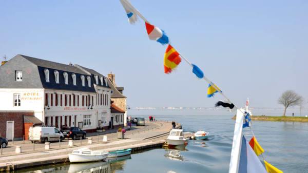 Façade - Les Bains - Hôtel du Port, Saint-Valery-sur-Somme