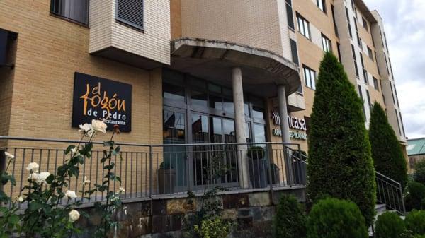 Vista entrada - El Fogón de Pedro - Aparthotel Encasa Vicálvaro, Madrid