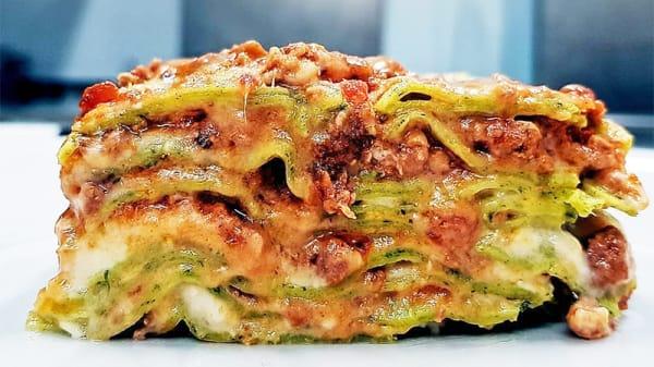 Lasagna - LoSTEBA Osteria In Evoluzione, Modena