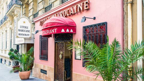 Devanture - L'Etoile Marocaine, Paris