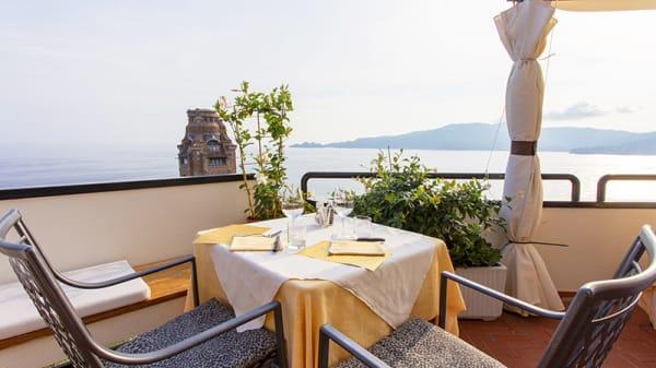 Vista della terrazza - Il Tagliere  Toscano, Zoagli