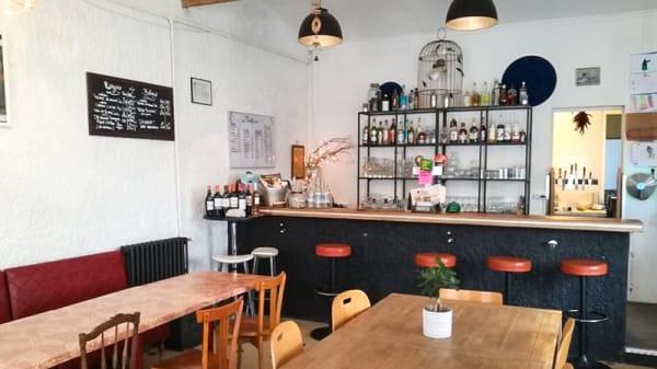 Salle du restaurant - Le Cerey, Bordeaux