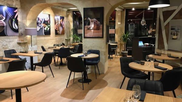 Salle du restaurant - L'Accolade, Caen