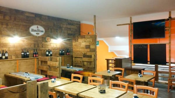 Sala del ristorante - Zio Paperooga, Genova