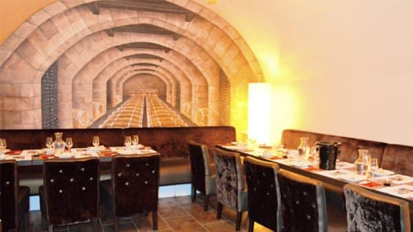 salle privative - À L'heure Du Vin, Paris