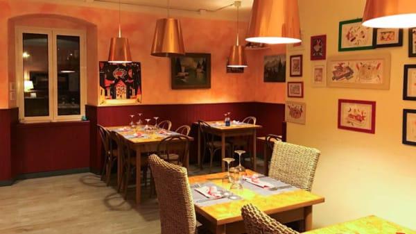 Sala del ristorante - Antica Trattoria delle Rose, Sori
