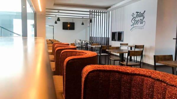 Vista della sala - Total Sports Restaurante, Vila Nova de Gaia