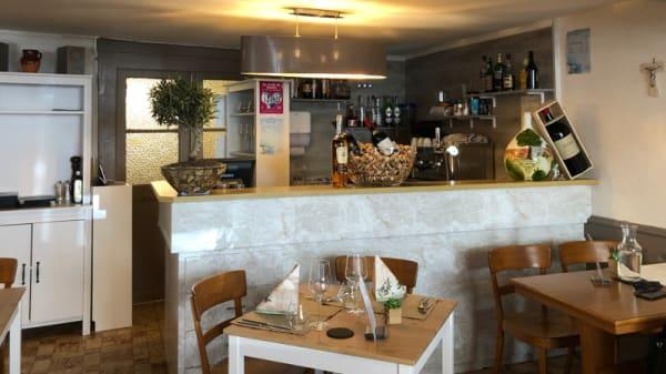 Salle du restaurant - Le Central, Vevey