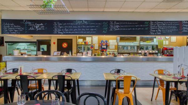 vue de la salle - Brasserie du M.I.N, Avignon