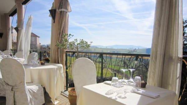 Apreçu de la terrasse - La Terrasse, Thizy-les-Bourgs