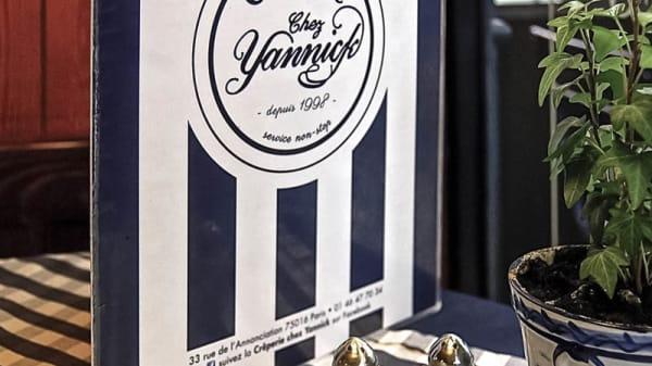 détail - Chez Yannick, Paris