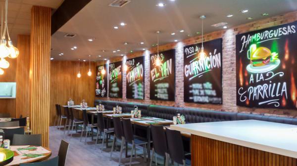 Vista sala - The Burger Lobby - Villaviciosa de Odón, Villaviciosa De Odon