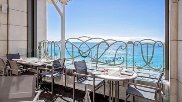 La terrasse - Le 3e - Hyatt Regency Palais de la Méditerranée, Nice