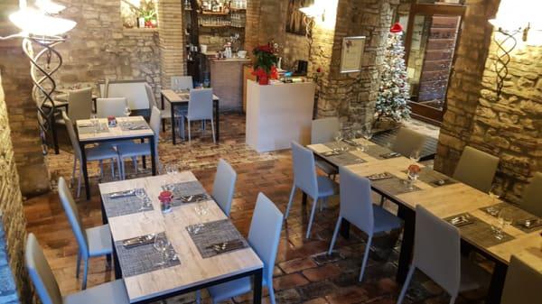 Prima sala - Ristorante Pizzeria Le Scalette, Todi