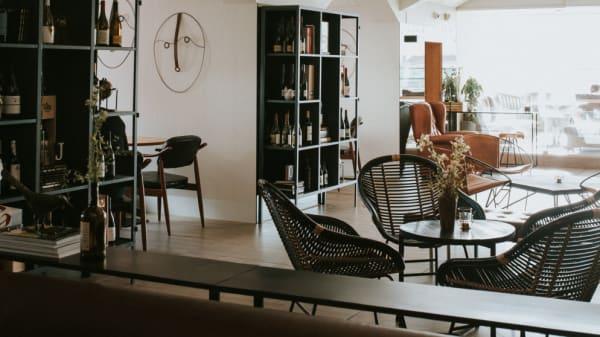 Vista da sala - Terraço Editorial, Lisboa