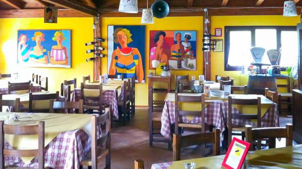 La sala - Osteria i due ladroni, San Vittorino