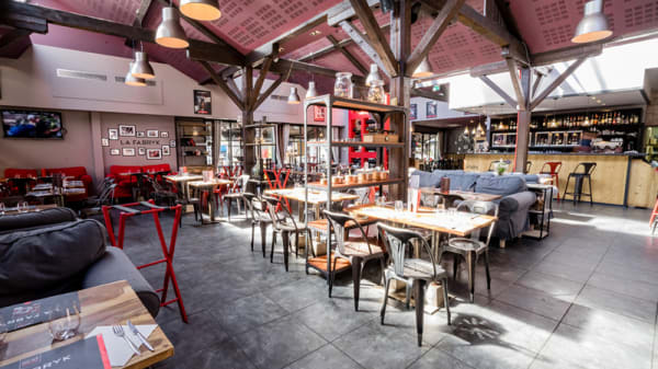 Salle restaurant - La Fabryk, Lyon