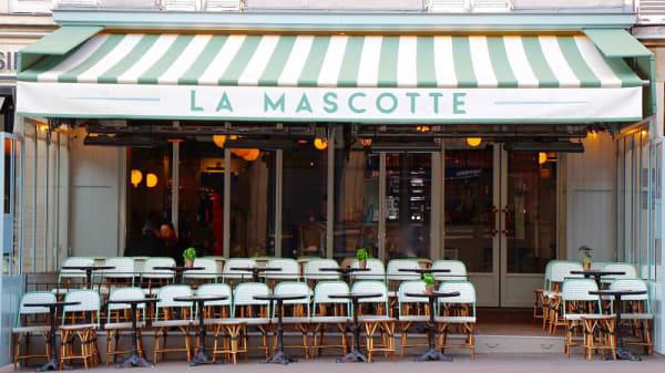 Façade - La Mascotte Saint Honoré, Paris