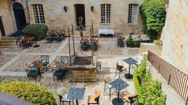 Terrasse - La Dinée du Viguier, Figeac
