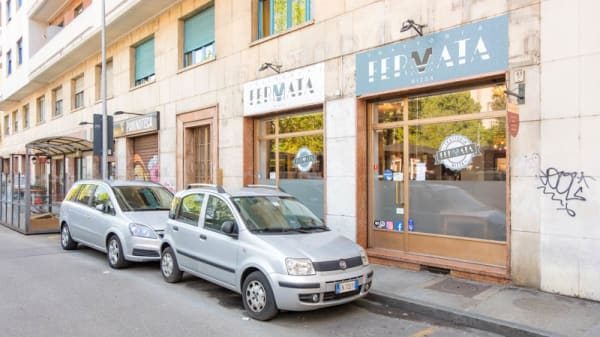 Entrata - Trattoria Fermata Nizza, Turin