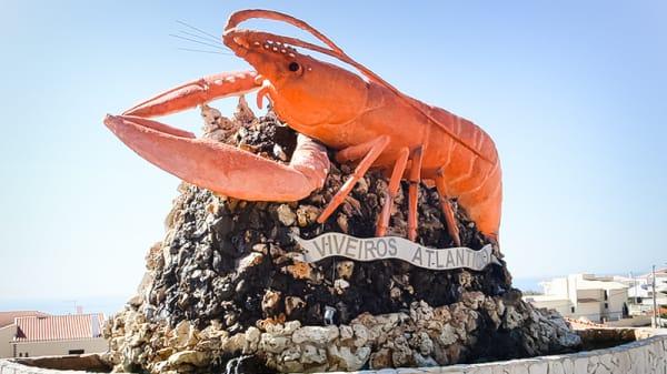 exterior - Marisqueira Viveiros do Atlântico, Santo Isidoro