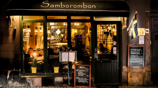 The restaurant - Samborombon, Stockholm