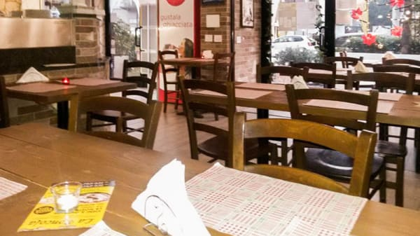 Sala del ristorante - La Roncola, Monza