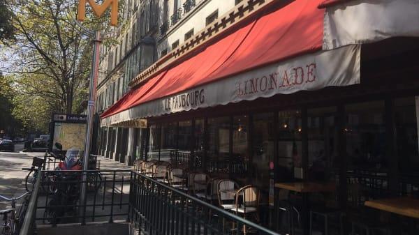 terrasse - Le Faubourg Café, Paris